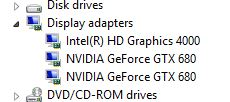 Graphics Device List